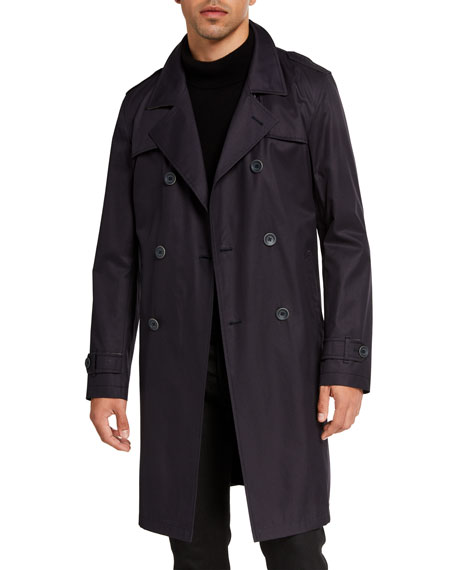 Herno Men's Tech-Stretch Raincoat