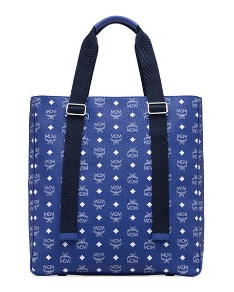 MCM Men's Classic Visetos Medium Tote Bag