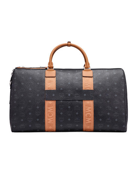 MCM Men's Traveler Visetos Weekender Bag