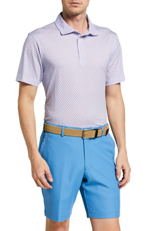 Peter Millar Men's Birds of Paradise Polo Shirt