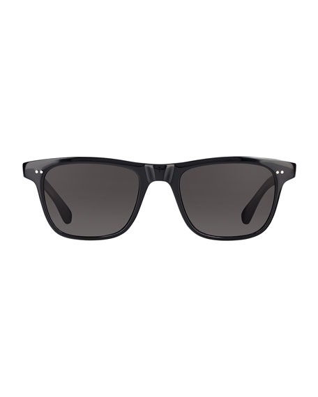 Garrett Leight Men's Wavecrest Acetate Sunglasses
