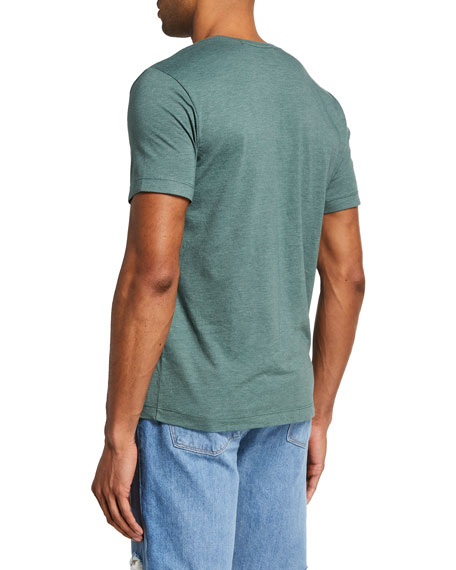 Image 2 of 2: J Brand Men's Hexator Short-Sleeve Crewneck T-Shirt