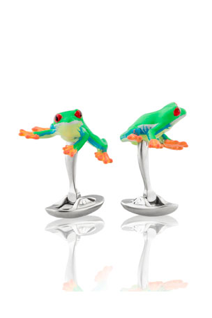 Fils Unique Frogs Cufflinks