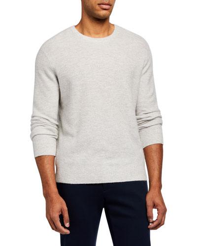 Men's Tuck-Stitch Sweater