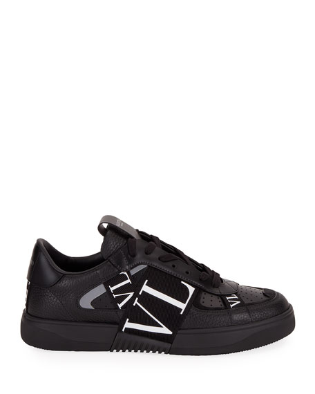 Image 2 of 4: Valentino Men's VLTN-Banded Low-Top Sneakers
