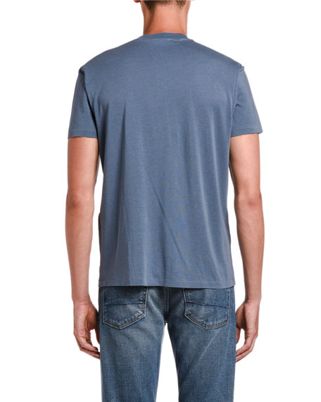 Image 2 of 2: TOM FORD Men's Solid Jersey T-Shirt