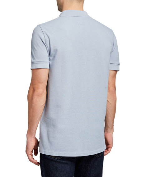 Image 2 of 2: TOM FORD Men's Garment-Dyed Tennis Pique Polo Shirt