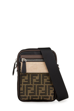 Fendi Men's FF Crossbody Camera Bag