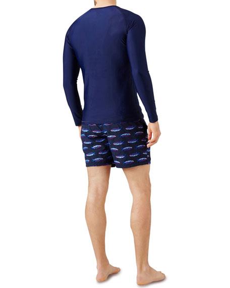 Vilebrequin Men's Crewneck Surf Shirt