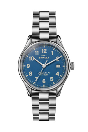 Shinola Limited-Edition Smokey Robinson My Guy 38mm Bracelet Watch