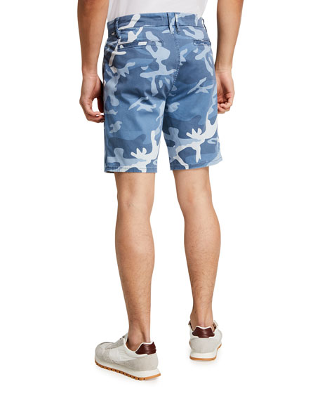 Image 2 of 3: Joe's Jeans Men's Camo Sateen Trouser Shorts