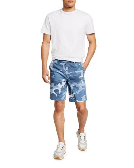 Image 3 of 3: Joe's Jeans Men's Camo Sateen Trouser Shorts
