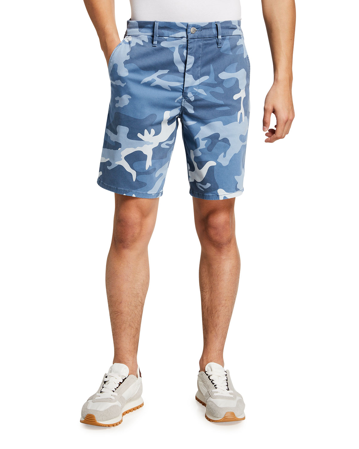 Joe's Jeans Men's Camo Sateen Trouser Shorts