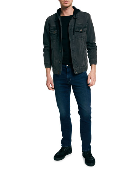Image 3 of 3: Joe's Jeans Men's Asher Slim Dark-Wash Jeans