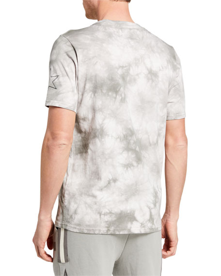 Image 2 of 2: Ovadia Men's NBA Tie-Dye Crewneck Tee