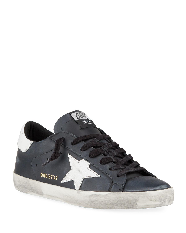 Superstar Vintage Leather Sneakers