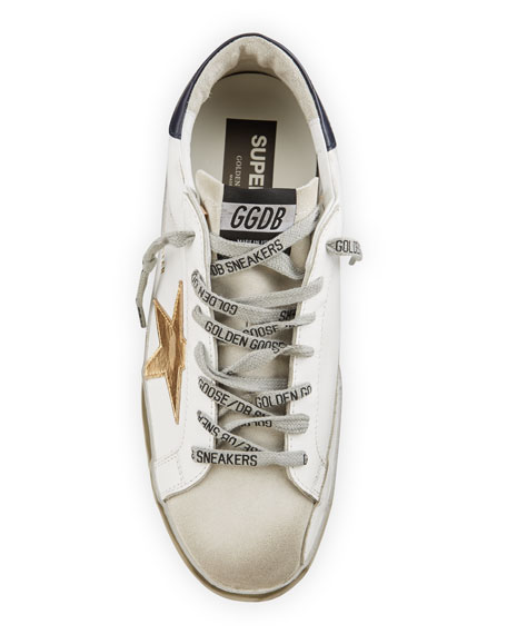 Image 2 of 4: Golden Goose Men's Superstar Vintage Leather Sneakers