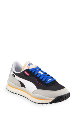 Puma Men's Style Rider Play On Runner Sneakers