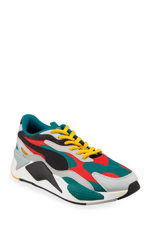 Puma Men's RS-X Mixed-Media Runner Sneakers
