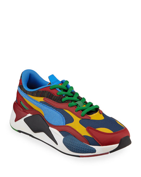 RS-X Mixed-Media Runner Sneakers