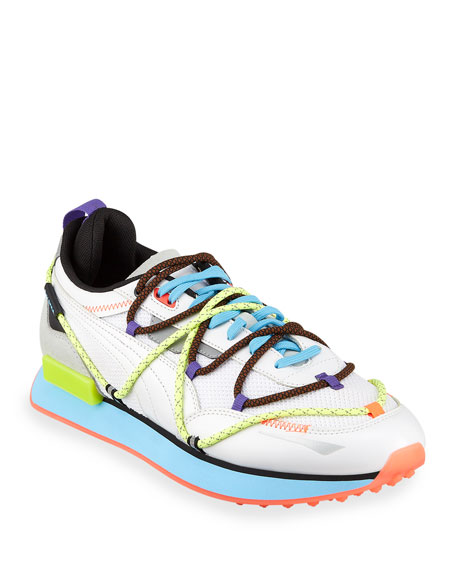 Image 1 of 4: Puma Men's Future Rider Day Zero Triple-Lace Sneakers