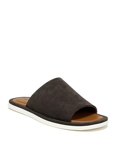 Men's Devoe Suede Slide Sandals