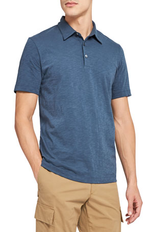 Theory Men's Bron C Cosmos Polo Shirt
