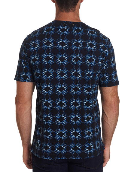 Robert Graham Men's Speed Limit Batik Skull-Print T-Shirt