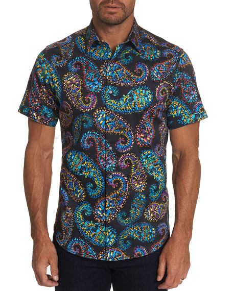 Robert Graham Men's Piston Paisley Sport Shirt