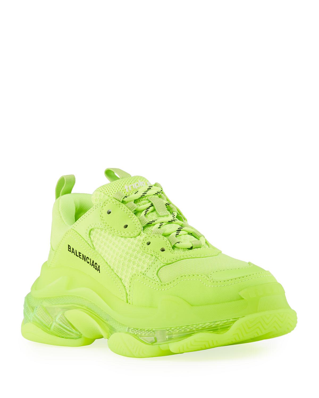 balenciaga sneakers neon