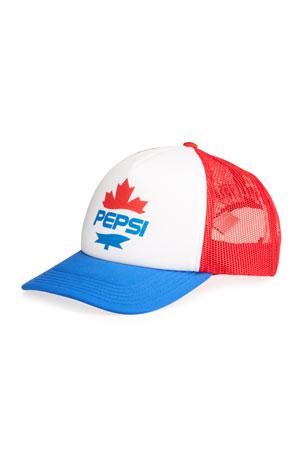Dsquared2 Men's x Pepsi Maple Leaf Mesh Baseball Cap