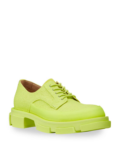 Men's Gao Fluo Leather/Rubber Derby Shoes
