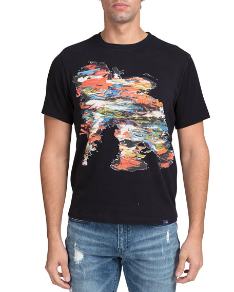 Image 1 of 2: PRPS Men's Heavy Plastisol Cherub T-Shirt