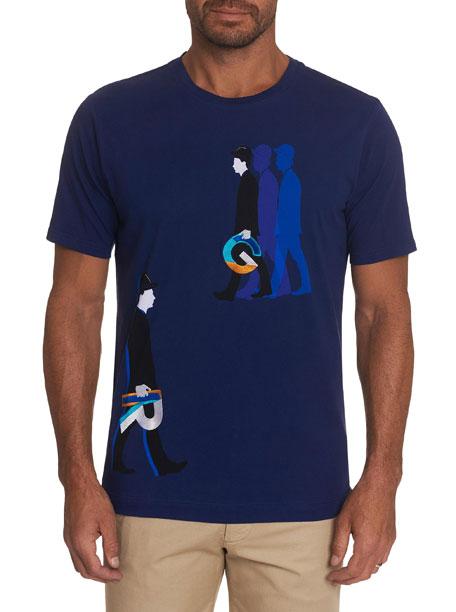 Robert Graham Men's Walk Like RG Graphic T-Shirt