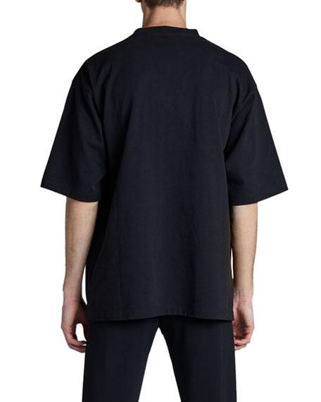 Balenciaga Men's X Rated Print T-Shirt