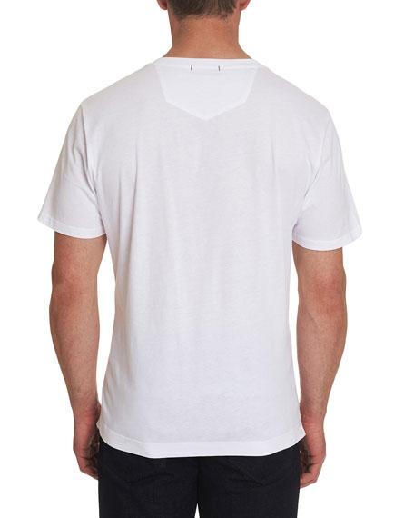 Robert Graham Men's Color Run Graphic T-Shirt