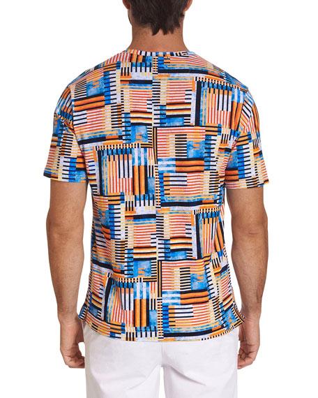 Robert Graham Men's Victory Lane Graphic T-Shirt
