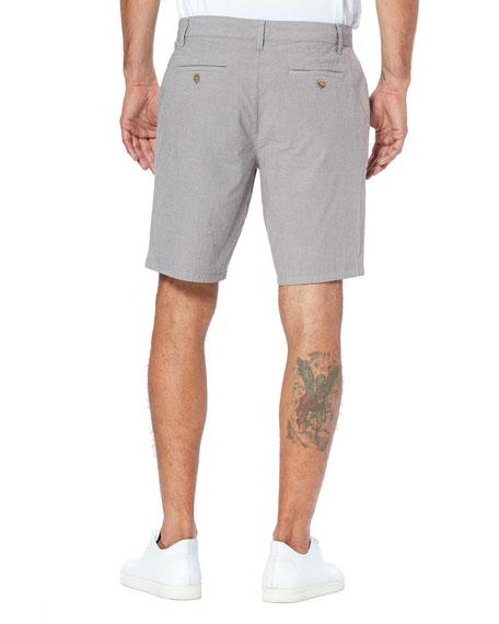 PAIGE Men's Thompson Lightweight Stretch-Cotton Shorts