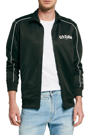 G-Star Men's GS Raw Track Jacket w/ Piping