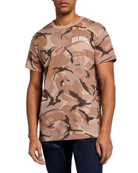 Image 1 of 2: G-Star Men's GS Raw Camo T-Shirt