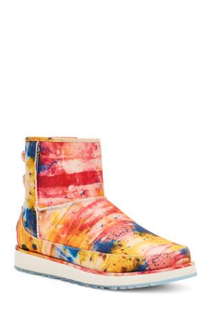 UGG Men's x Ovadia Classic Mini Tie-Dye Boots