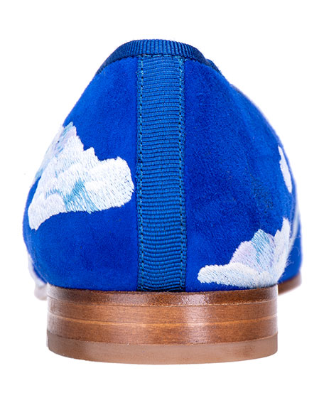 Stubbs and Wootton Men's Cloud Nine Suede Slippers