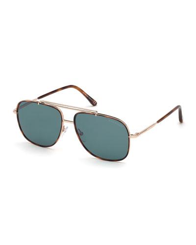 Men's Benton Aviator Sunglasses