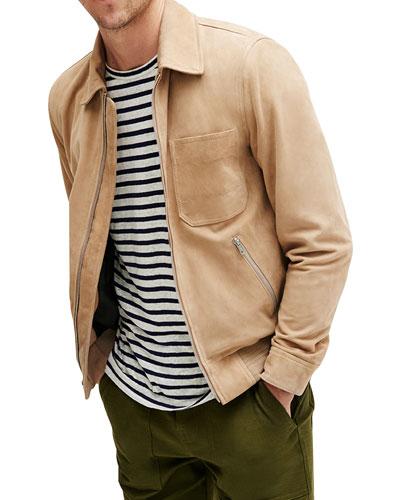 Men's Harrington Suede Jacket