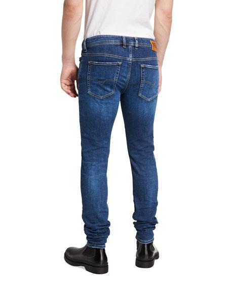Diesel Men's Sleenker-X Medium-Wash Skinny Jeans