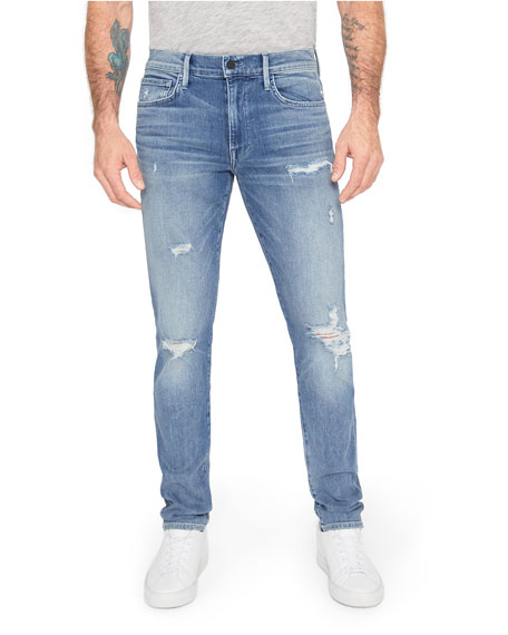 Image 1 of 2: Joe's Jeans Men's The Dean Distressed Jeans - Timothy