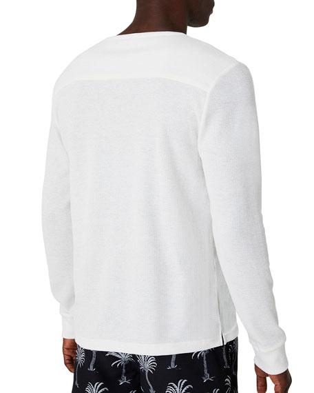Onia Men's Miles Long-Sleeve Henley Shirt