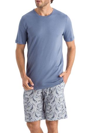 Hanro Men's Night Day Pattern PJ Set