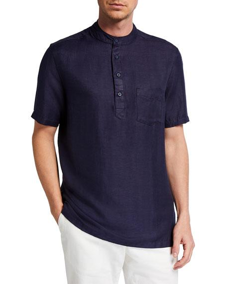 Onia Men's Anthony Short-Sleeve Shirt