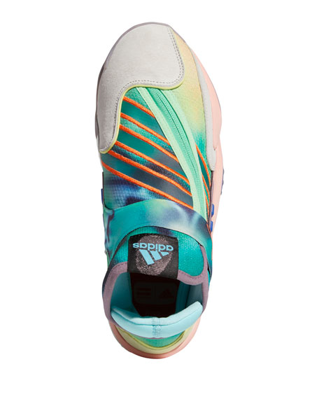 adidas x Pharrell Williams Men's x Pharrell Williams Multicolor Mid-Top Sneakers